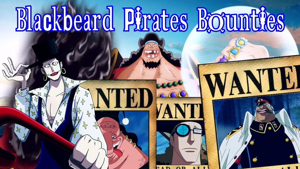 Marshall D Teach Impel Down Piracy One Piece Blackbeard Pirates Png Clipart