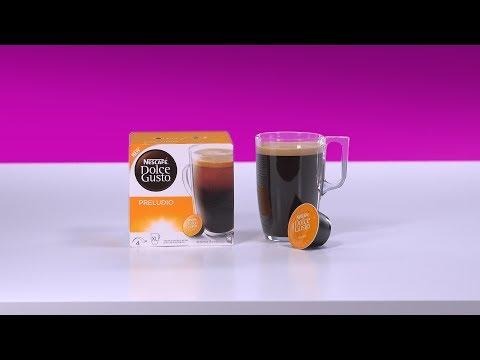 Prepare a Preludio with your NESCAFÉ® Dolce Gusto® Piccolo coffee machine by De'Longhi®