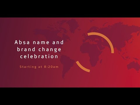 Absa name and brand change celebration