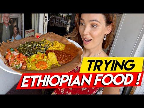 Trying Ethiopian Food! I Exploring LA's Little Ethiopia I LA Vlog