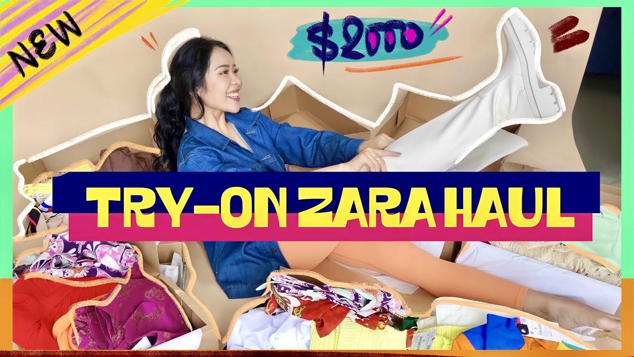 Lỡ nướng hơn 40tr cho Zara mùa sale… - THỬ SIÊU NHIỀU ÁO QUẦN MÙA HÈ   An Phương