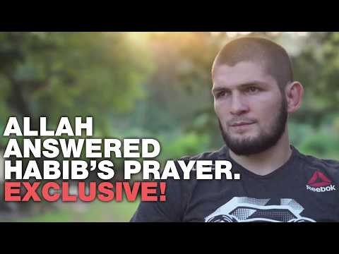 Khabib's charity mission in Africa