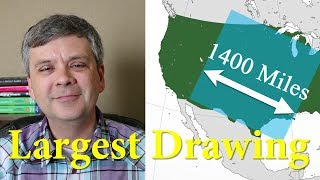 The Biggest Drawing in the World! (1400 Miles Wide)
