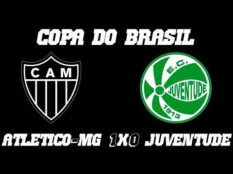 Melhores Momentos - Atlético-MG 1 x 0 Juventude - Copa do Brasil 2016 (28-09-16)
