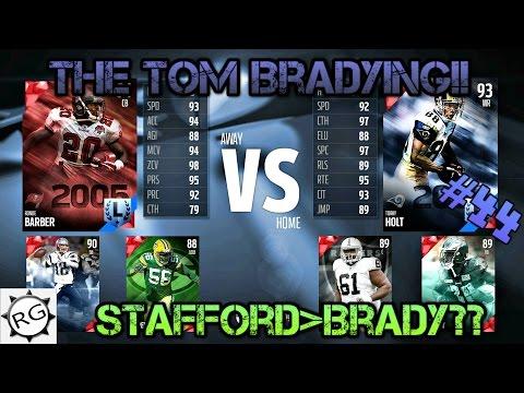 Madden 16 Draft Champions #44! New Ranked Draft! The Tom Bradying?