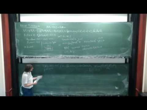 Juan Velázquez: Some mathematical properties of a kinetic model of weak turbulence