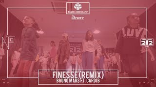 Finesse (Remix) - Bruno Mars ft Cardi B | Manggis Choreography