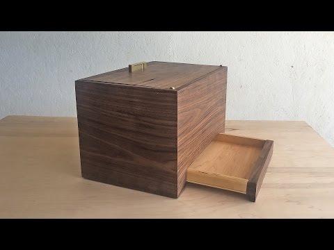 Secret Compartment Box   Modern Builds   EP. 31