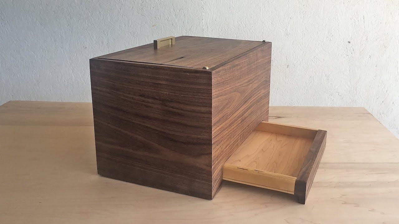 Secret partment Box Modern Builds