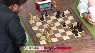 GM Aronian (Armenia) - GM Yu (China) FF + PGN