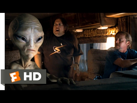 Paul (2011) - Spaz Attack Scene (1/10)   Movieclips