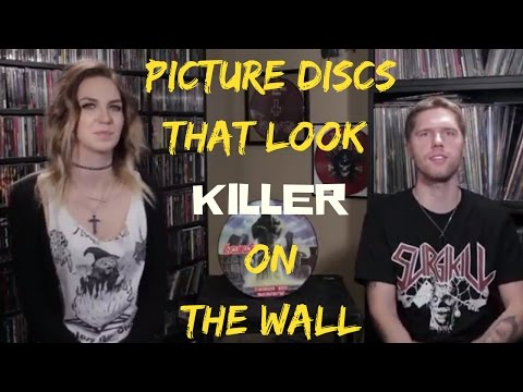 Metal Decor - Picture Discs That Look Killer On The Wall
