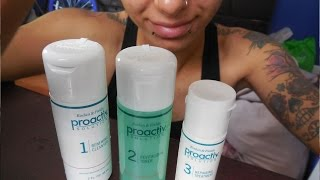 PROACTIV WORKS! How To Apply/ Scrub Your Face With 3 Steps Of Starting Kit :)