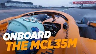 Daniel Ricciardo's McLaren MCL35M debut