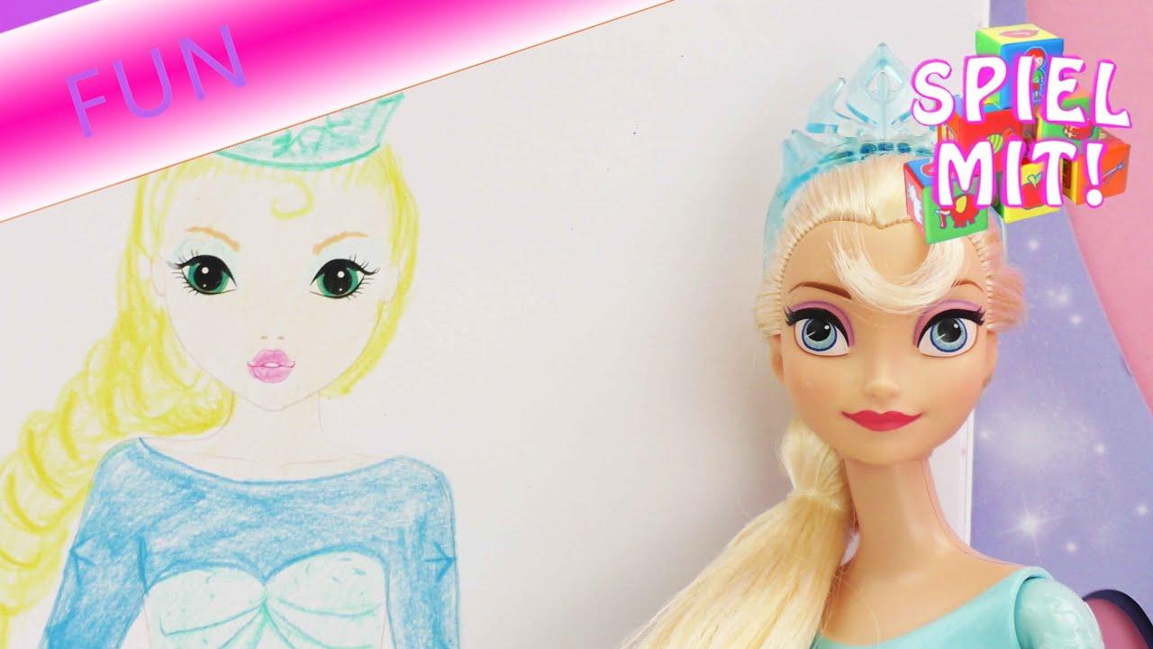 barbie zeichnen