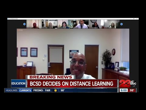 Bakersfield School District opts for distance learning in the fall
