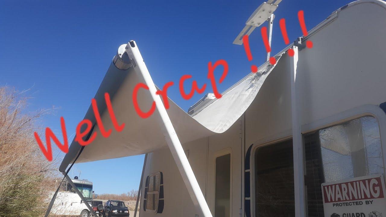 Repairing my SunSetter RV awning. Awning wont retract ...