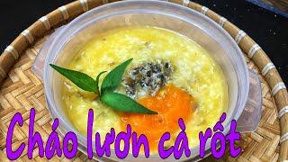Thực đơn ăn dặm || Cháo lươn cà rốt cho bé từ 1 tuổi - Kimi Food TV