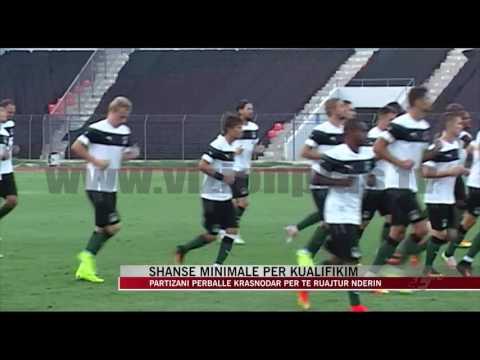 Partizani përballë Krasnodar për të ruajtur nderin - News, Lajme - Vizion Plus