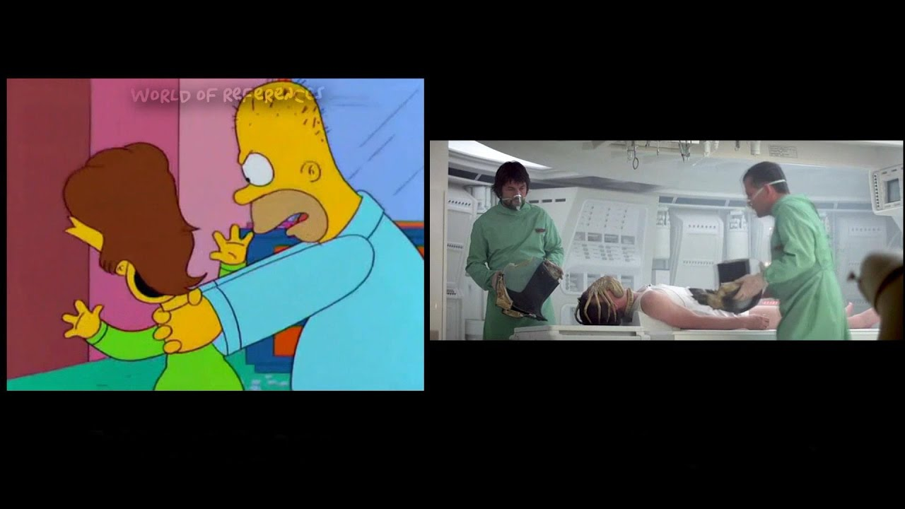 The Simpsons Treehouse Of Horror Movie References Part 9 Youtube