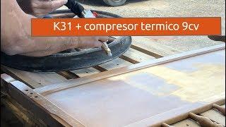 Arenadora automatica K31 + compreso termico 9cv