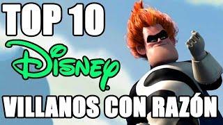 Top 10 Villanos Disney que tenian la razón
