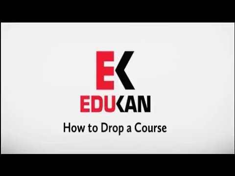 how-to-drop-a-course-within-edukan's-course-management-system