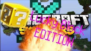 Skywars Lucky block Novo Minigame Imposivel de Ganhar - Minecraft Hypixel