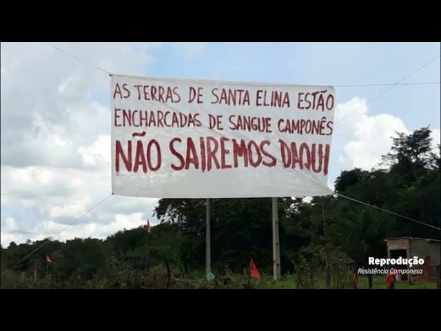 BRAZIL - Video from the Peasants Resistance