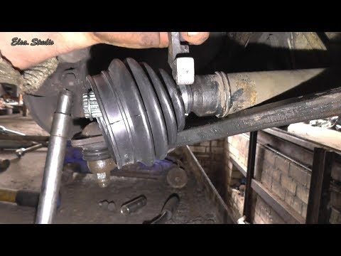 Замена наружного пыльника гранаты ВАЗ 21099