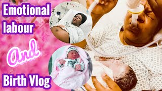 Emotional Pregnancy And Birth Vlog | How I Had 2 Babies In 2 Years| Birth At 37 Weeks