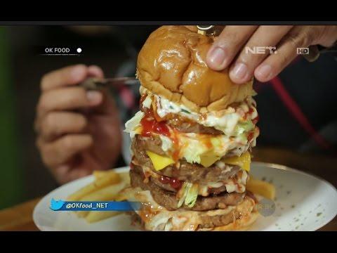 Enaknyaa 7 lapis Burger di District 7
