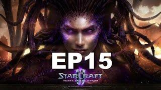 STARCRAFT 2 HEARTH OF THE SWARM PT BR EP15 # INFESTADO PART1 !#!
