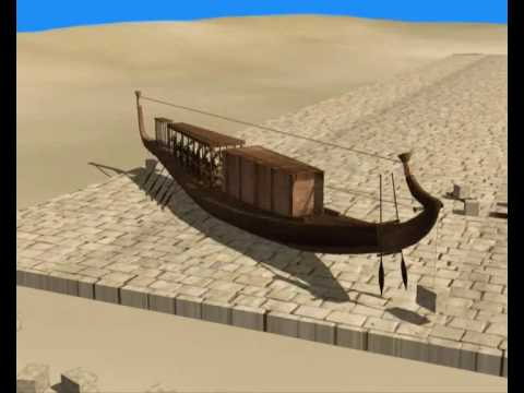 how to make an egyptian boat