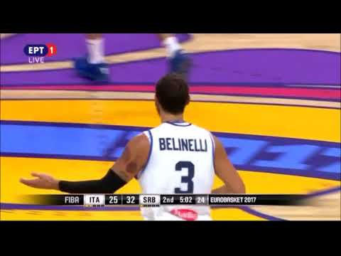 Italy vs Serbia 67-83 /Eurobasket 2017 Quarter-Final Highlights {13-9-2017}