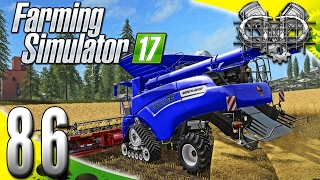 Farming Simulator 2017 Gameplay :EP86: Police Combine Harvester! (PC Goldcrest Valley)