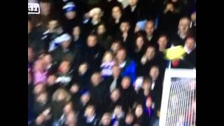 Yaya Toure hits kid in the Crowd OUTCH
