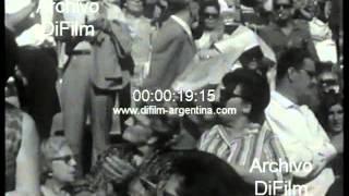 DiFilm - Apertura torneo mundial de Pelota Vasca en Uruguay 1966