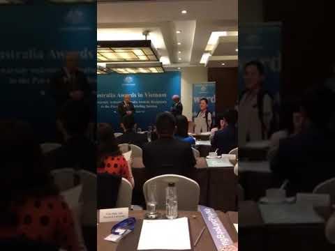 Appreciation Speech In Pre-Departure Briefing Of Australia Awards Scholarship In Vietnam 2018