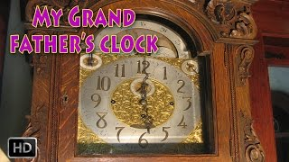 My Grandfather's Clock With Lyrics - Nursery Rhymes For Children - Toddler Songs