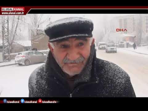 Kar yağışı Kars'ta eşsiz manzaralar oluşturdu