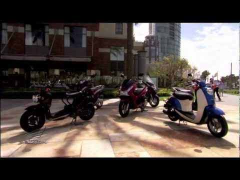 The Honda Scooter Line-up