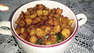 Crispy Potato Fry /Urulai Kizhangu Varuval/ உருளை கிழங்கு வருவல் /Kayal Samayal