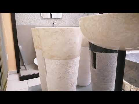 Lavabi da appoggio in vero quarzo, marmo e pietra, ecco i Nuovi arrivi 2020 Ceramica Sud