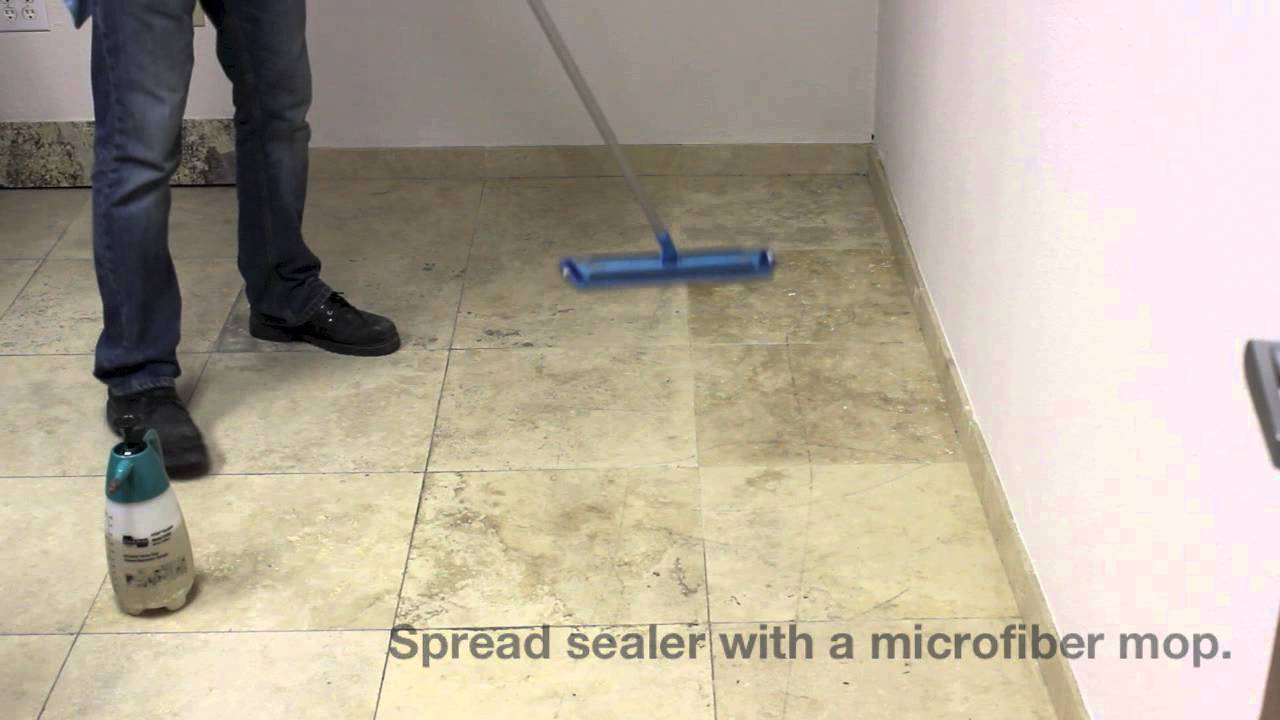 How to seal travertine floors with stone pro porous pro sealer how to seal travertine floors with stone pro porous pro sealer youtube dailygadgetfo Gallery