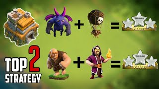 2018-19 | NEW TOP 2 TH7 ATTACK STRATEGIES | DEFENSE REPLAYS | CLASH OF CLANS 2018.