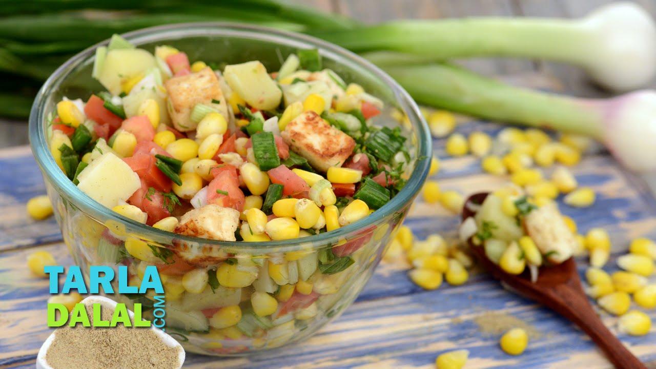Paneer and corn chatpata salad by tarla dalal youtube paneer and corn chatpata salad by tarla dalal forumfinder Gallery