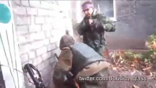 Бои ополченцев в Никишино. АТО / War in Ukraine
