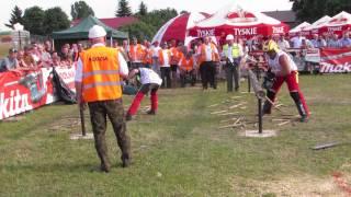 XVI Międzynarodowe Zawody Drwali – Bobrowa