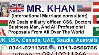 International  MARRIAGE  CONSULTANT  ARIF KHAN